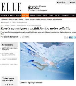 Aquabike et Aquagym à la Ciotat