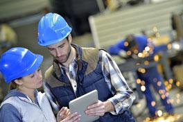 Steigern Sie Ihre Effizienz schnell und einfach in Vertrieb, Kundenservice, Instandhaltung, Management und Produktion