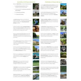 page des activités à faire autour du gîte de la ferme du Puy d'Anché par e-cime.fr