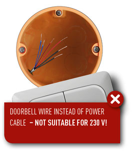 wiring scheme with doorbell wires
