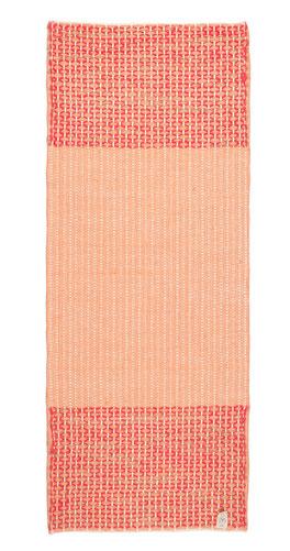 Indische Yogamatte Bio Baumwolle orange