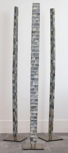 Hommage à Bacchus 30 x 30 x 230 cm
