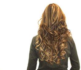 peinado ondulados