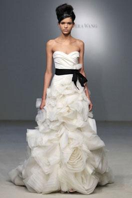 Vestido Vera Wang Foto: Vera wang