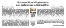 Artikel  Barfachschule Zürich