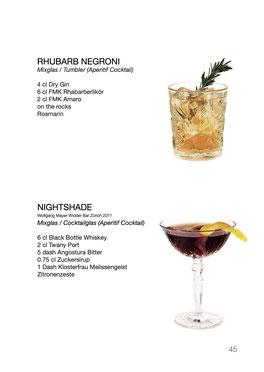 Drinkbuch der Barfachschule Zürich