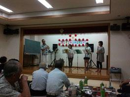 敬老会ですよ〜〜〜