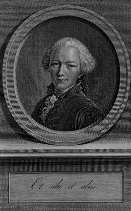 Gottfried Winckler (1731–1795), Kupferstich von Johann Friedrich Bause, 1766