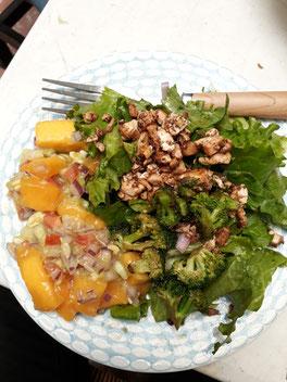 Comida saludable, ahorrar basura