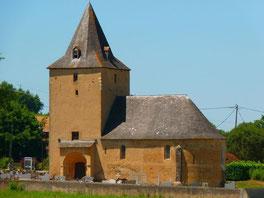 Church of Lannecaube (Vic-Bilh)