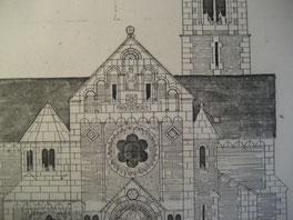 Die Planungsskizze von Architekt Schmitz aus dem Jahr 1905