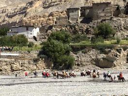 ヒマラヤのルブラ村