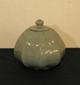 八角亀甲壺