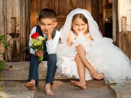 Hochzeit mit Kindern Idee