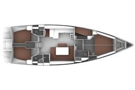 Bavaria Cruiser 50 Grundriss