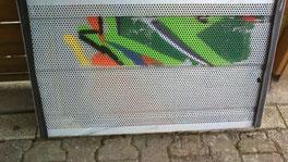 Graffitientfernung - nachher