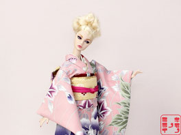 バービー着物,バービー 着物,Barbie kimono