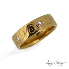 Jewellery Remodel 22ct Gold Ring
