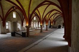 Dormitorium (Schlafsaal der Mönche)