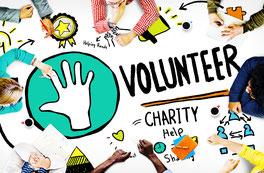 Freiwilliges Engagement Volunteer