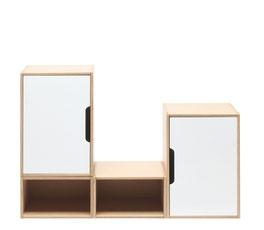modulare Schrankmadule und Kleiderschrank für Kinderzimmerausstattung