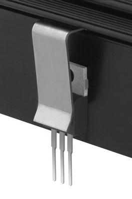 THFU4 Fischer Elektronik トランジスタ固定用スプリング