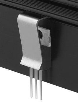 THFU3 Fischer Elektronik トランジスタ固定用スプリング