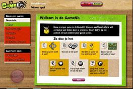 gamekit : ontwerp een spel (klokhuis)