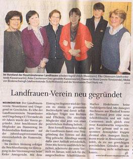 Holsteinischer Courier, 3.März 2012, S.18