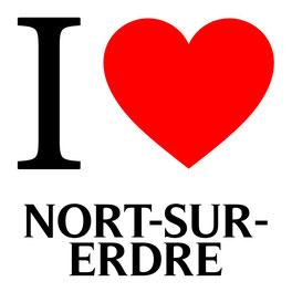 I love Nort-sur-Erdre
