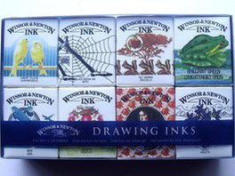 Winsor and Newton Drawing Inks