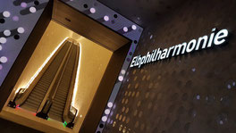 Tube Elbphilharmonie Rolltreppe