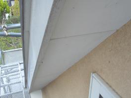 軒裏天井 塗装前