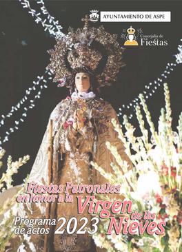 Programa de las Fiestas de Asoe 2015