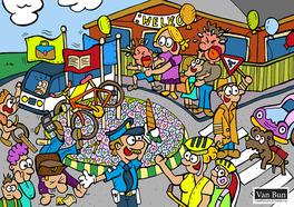 Van Bun Communicatie & Vormgeving - Internetgazet Lommel - Illustraties - Tekeningen - Grafisch ontwerp - Publiciteit - Reclame - Terug naar school