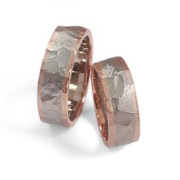 Trauringe facette: 925/- Silber