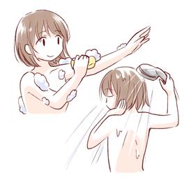 全身シャンプーアウロラフレア、肌しっとりうるおい、髪・顔・体やさしくキレイに洗う