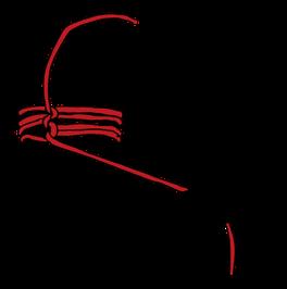 パイプへのロープの縛り方10