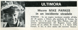 Ultimora di Mike Parkes