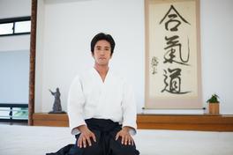 Mitsuteru Ueshiba Dojo Cho of Aikikai Hombu Dojo