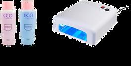 Zubehör bestellen z.B Remover , Cleaner, UV Lampe
