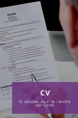 Astuces pour un meilleur CV
