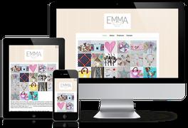 Emma with Love Website von Julia Schuchardt Communications