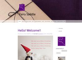 Fairy Saddle のホームページ