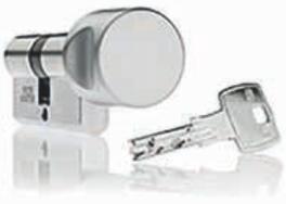 DOM-IX-GAMMA - bewegliche Kugel im Schlüssel macht Schlüsselkopien praktisch unmöglich