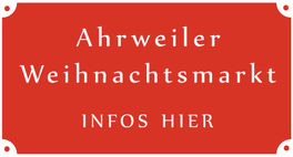 nach einem Spaziergang auf dem Rotweinwanderweg können Sie auch den Ahrweiler Weihnachtsmarkt an allen Adventwochenenden besuchen.