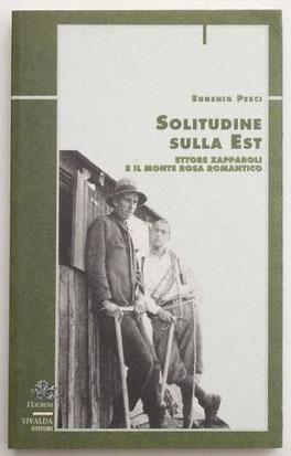 Ettore Zapparoli a destra, sulla coprtina del libro a lui dedicato