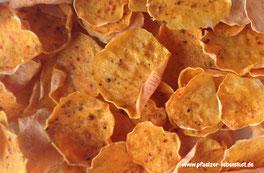 Rohkost, Vitalkost, Gemüsechips, Süßkartoffel-Chips, Roh, gesund