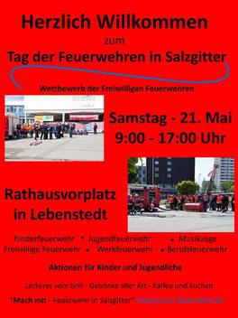 freiwillige feuer salzgitter bleckensedt tag der feuerwehren 2016 lebenstedt rathaus