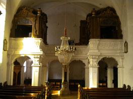 Ansicht der Orgelempore